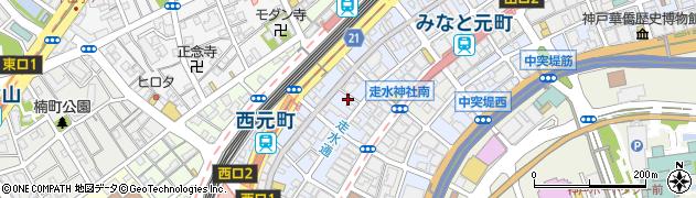 走水神社周辺の地図