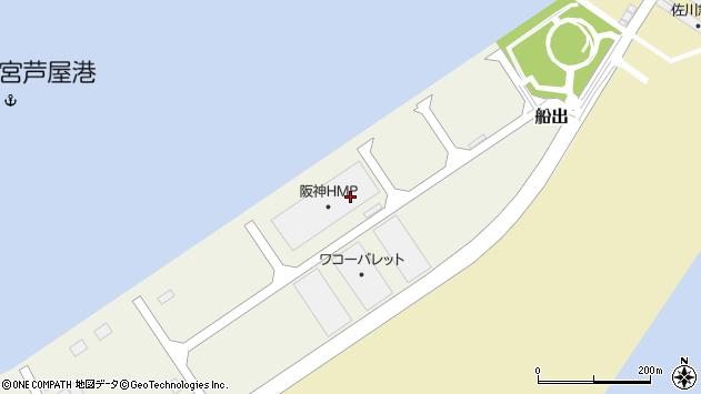 〒660-0846 兵庫県尼崎市船出の地図