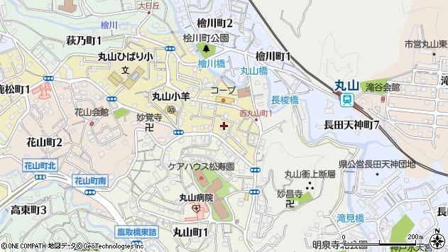 〒653-0874 兵庫県神戸市長田区西丸山町の地図