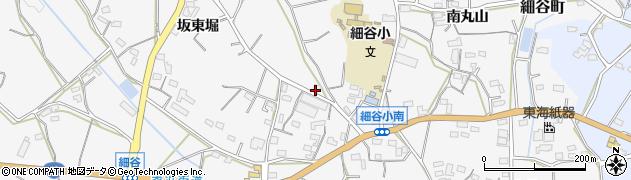 愛知県豊橋市細谷町(中ノ島)周辺の地図