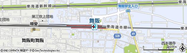 静岡県浜松市西区周辺の地図