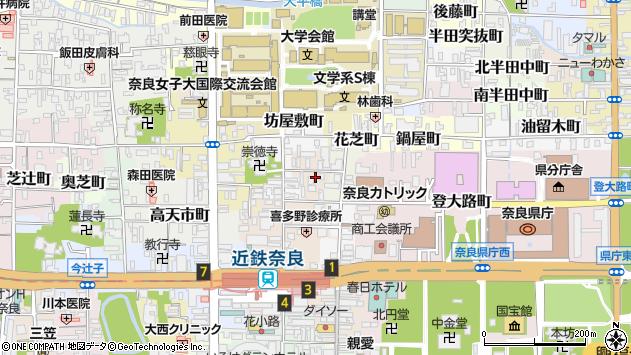 〒630-8267 奈良県奈良市大豆山突抜町の地図