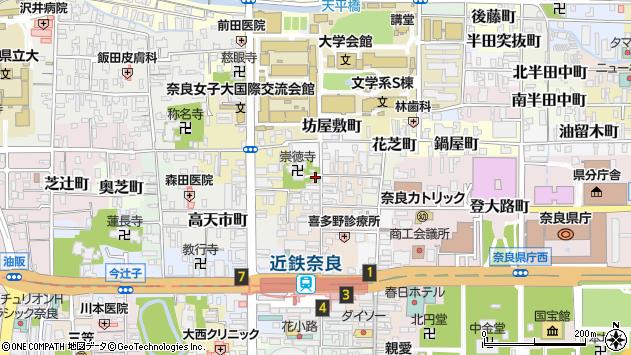 〒630-8268 奈良県奈良市大豆山町の地図