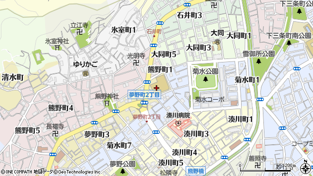 〒652-0063 兵庫県神戸市兵庫区夢野町の地図