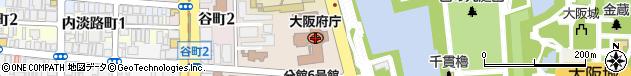 大阪府周辺の地図