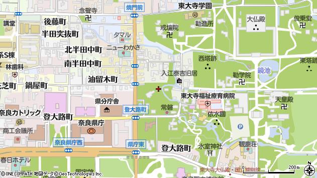 〒630-8208 奈良県奈良市水門町の地図