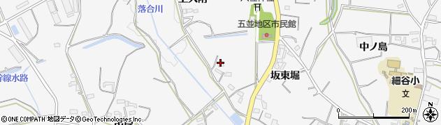 愛知県豊橋市細谷町(上大附)周辺の地図