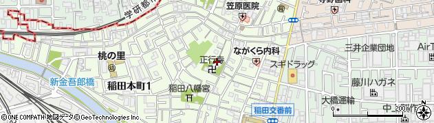 存空寺周辺の地図