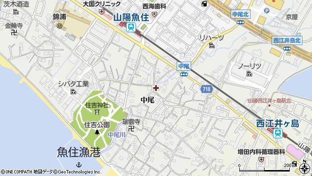 〒674-0082 兵庫県明石市魚住町中尾の地図