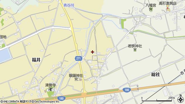 〒719-1116 岡山県総社市刑部の地図