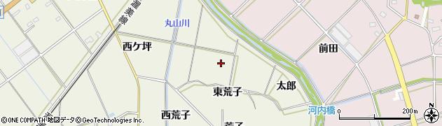 愛知県豊橋市杉山町(太郎)周辺の地図