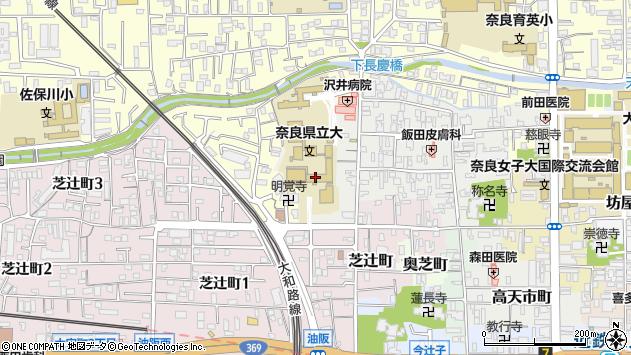 〒630-8258 奈良県奈良市船橋町の地図