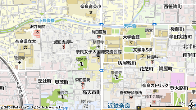 〒630-8252 奈良県奈良市北小路町の地図