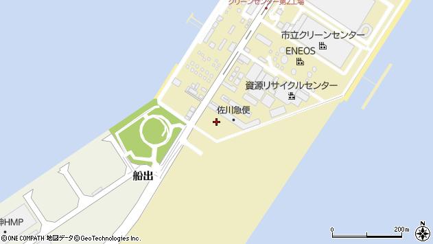 〒660-0843 兵庫県尼崎市東海岸町の地図
