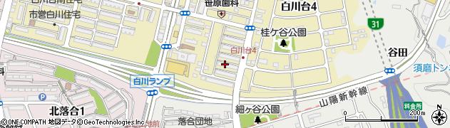 白川台ハイツ周辺の地図