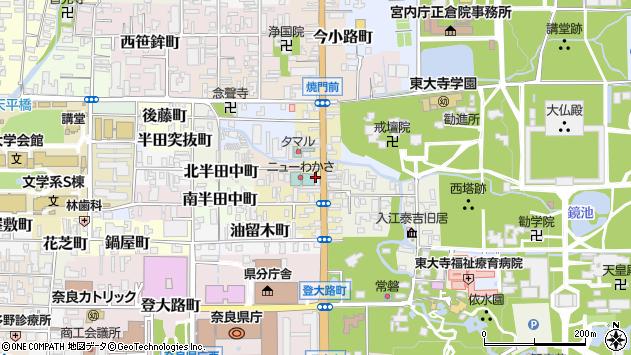 〒630-8273 奈良県奈良市押上町の地図
