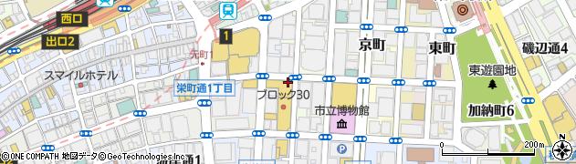 兵庫県神戸市中央区播磨町周辺の地図