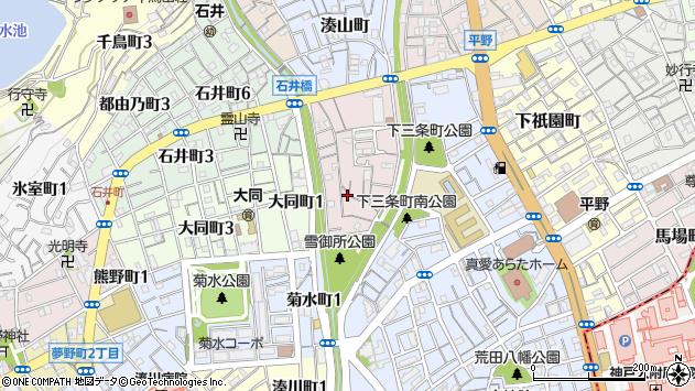 〒652-0031 兵庫県神戸市兵庫区雪御所町の地図