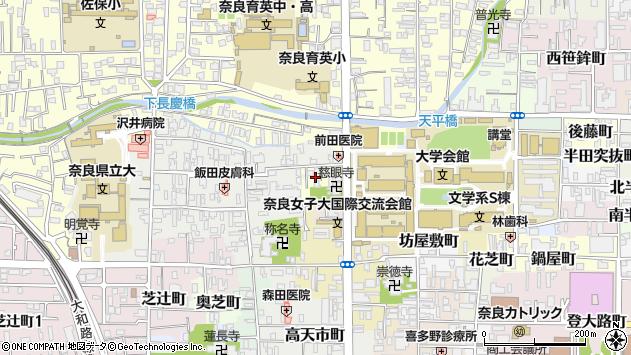 〒630-8251 奈良県奈良市西新在家号所町の地図