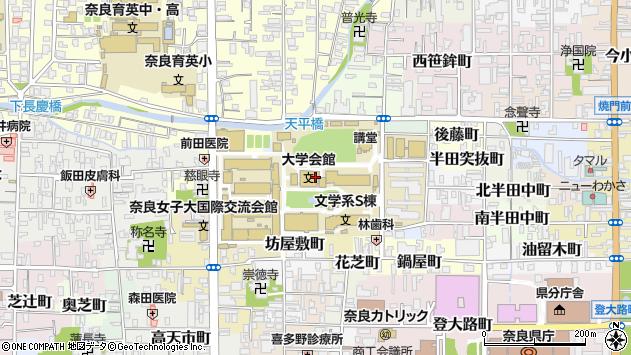 〒630-8263 奈良県奈良市北魚屋西町の地図