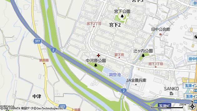 〒651-2146 兵庫県神戸市西区宮下の地図
