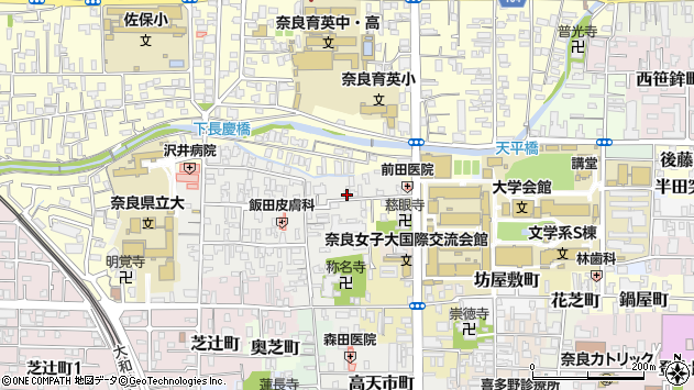 〒630-8248 奈良県奈良市西新在家町の地図