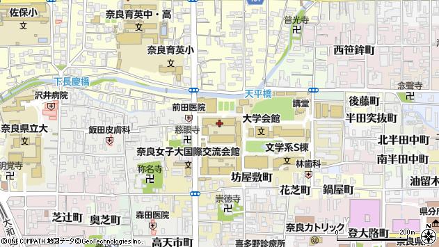 〒630-8272 奈良県奈良市東新在家町の地図