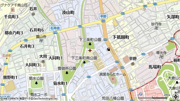 〒652-0014 兵庫県神戸市兵庫区下三条町の地図
