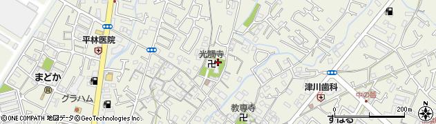 兵庫県明石市大久保町大窪小屋土井周辺の地図