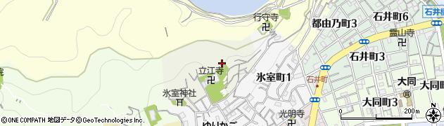 兵庫県神戸市兵庫区北山町周辺の地図