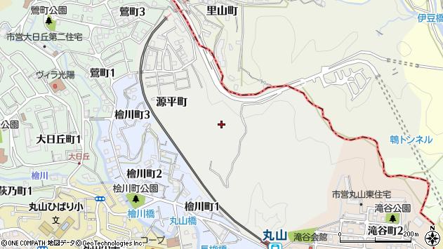〒653-0888 兵庫県神戸市長田区源平町の地図