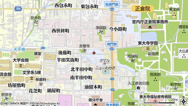 〒630-8293 奈良県奈良市川久保町の地図