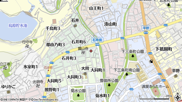 〒652-0061 兵庫県神戸市兵庫区石井町の地図