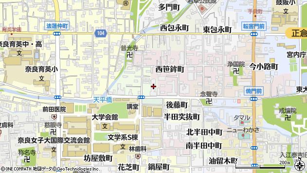 〒630-8297 奈良県奈良市北川端町の地図