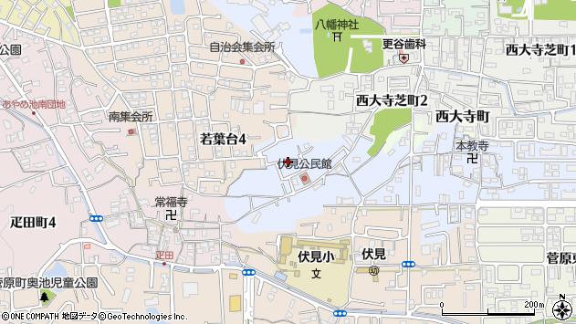 〒631-0841 奈良県奈良市青野町の地図
