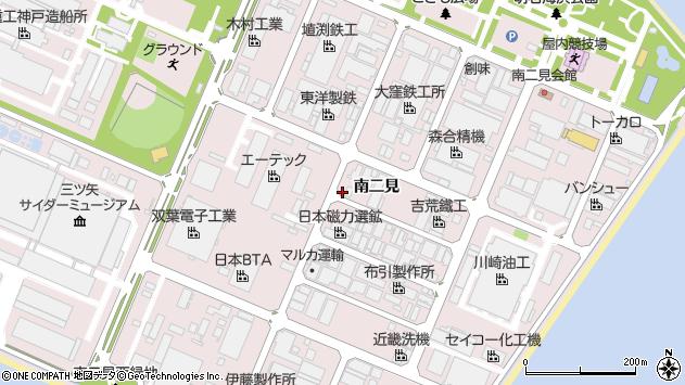 〒674-0093 兵庫県明石市二見町南二見の地図