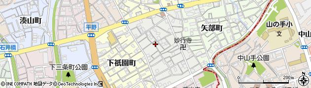 兵庫県神戸市兵庫区神田町周辺の地図