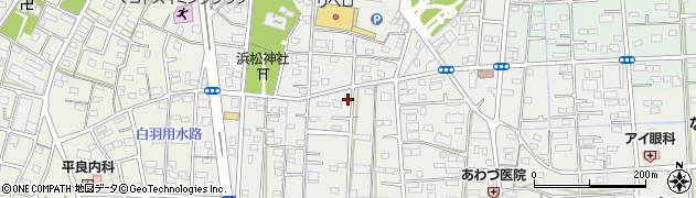 静岡県浜松市南区三島町周辺の地図