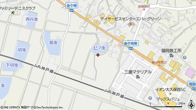 〒674-0071 兵庫県明石市魚住町金ケ崎の地図