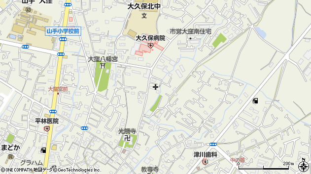 〒674-0051 兵庫県明石市大久保町大窪の地図