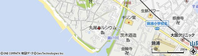 兵庫県明石市魚住町西岡川田周辺の地図