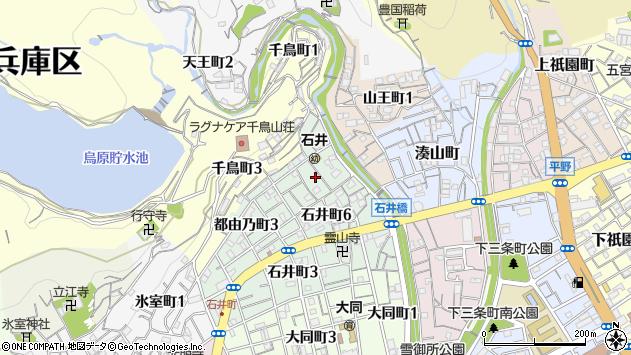 〒652-0023 兵庫県神戸市兵庫区都由乃町の地図