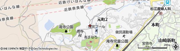 南陽院周辺の地図