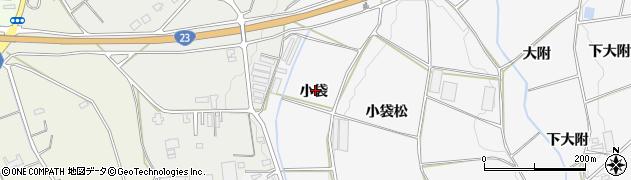 愛知県豊橋市細谷町(小袋)周辺の地図