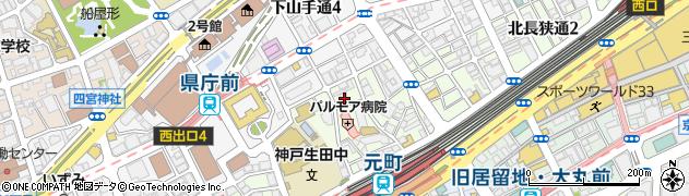 林マンション周辺の地図