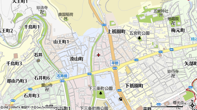 〒652-0013 兵庫県神戸市兵庫区上三条町の地図