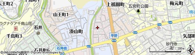 兵庫県神戸市兵庫区上三条町周辺の地図
