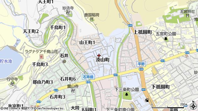 〒652-0012 兵庫県神戸市兵庫区湊山町の地図