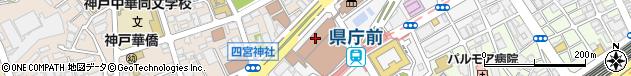 兵庫県周辺の地図