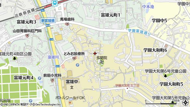〒631-0061 奈良県奈良市三碓の地図